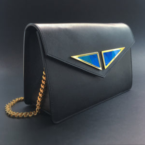 KHAMAMA BLUE 1874 Icon Handbag