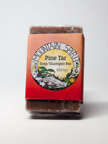 Pine Tar Soap/Shampoo Bars