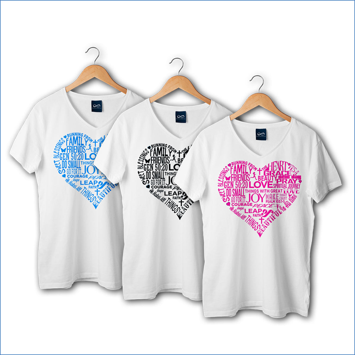 Running Form The Heart T-Shirt (Female)