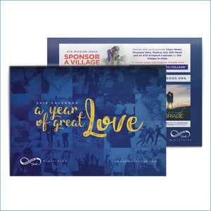 2018 Calendar - A Year of Great Love