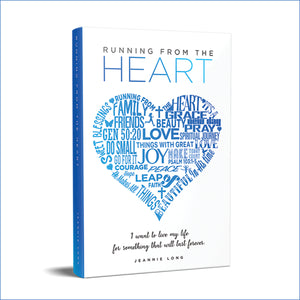 Running From The Heart - Book (Softcover)
