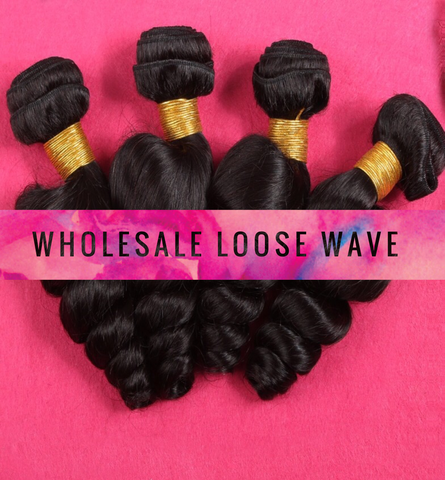 Wholesale 7A Loose Wave Hair