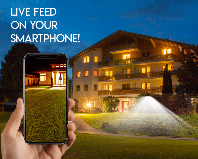Home automation, Smart Flood Light, IMGadgets wifi flood light, security camera, wifi security camera