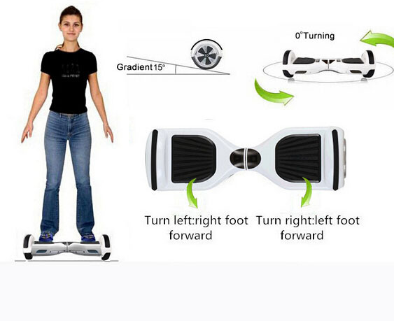Gyrocopters Hoverboard - How to Ride