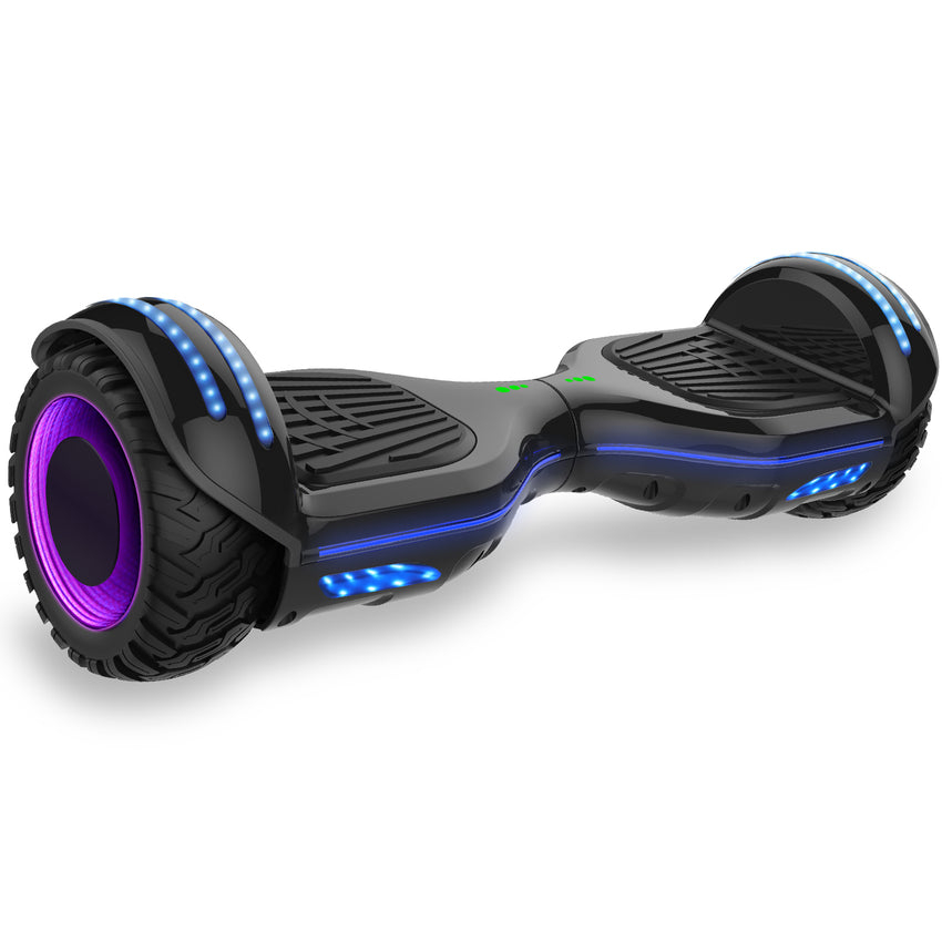 All terrain hoverboard LED lights