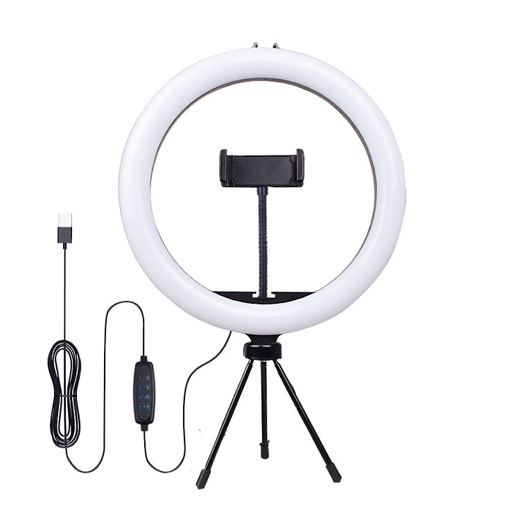 "10"" Selfie Ring Light with Tripod Stand & Phone Holder"