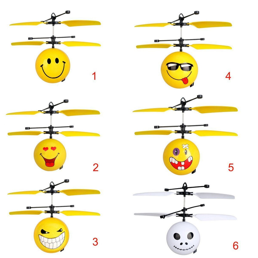 Flying Emoji's