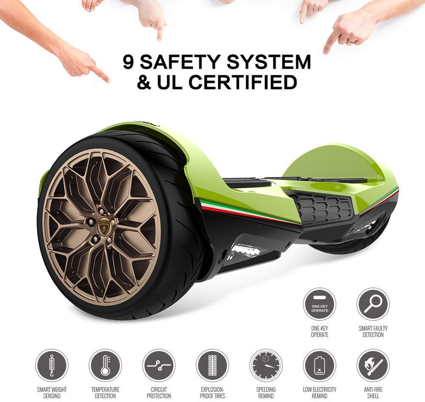 Gyrocopters hoverboard, lamborghini hoverboard, lamborghini 6.5 hoverboard, lamborghini 6.5 hoverboard green, green lamborghini hoverboards, self-balancing hoverboard