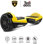 RE-CERTIFIED Gyrocopters- Lamborghini (authentic branded) 6.5 All Terrain Hoverboards
