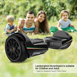 Gyrocopters- Lamborghini (authentic branded) 6.5 All Terrain Hoverboard- Black