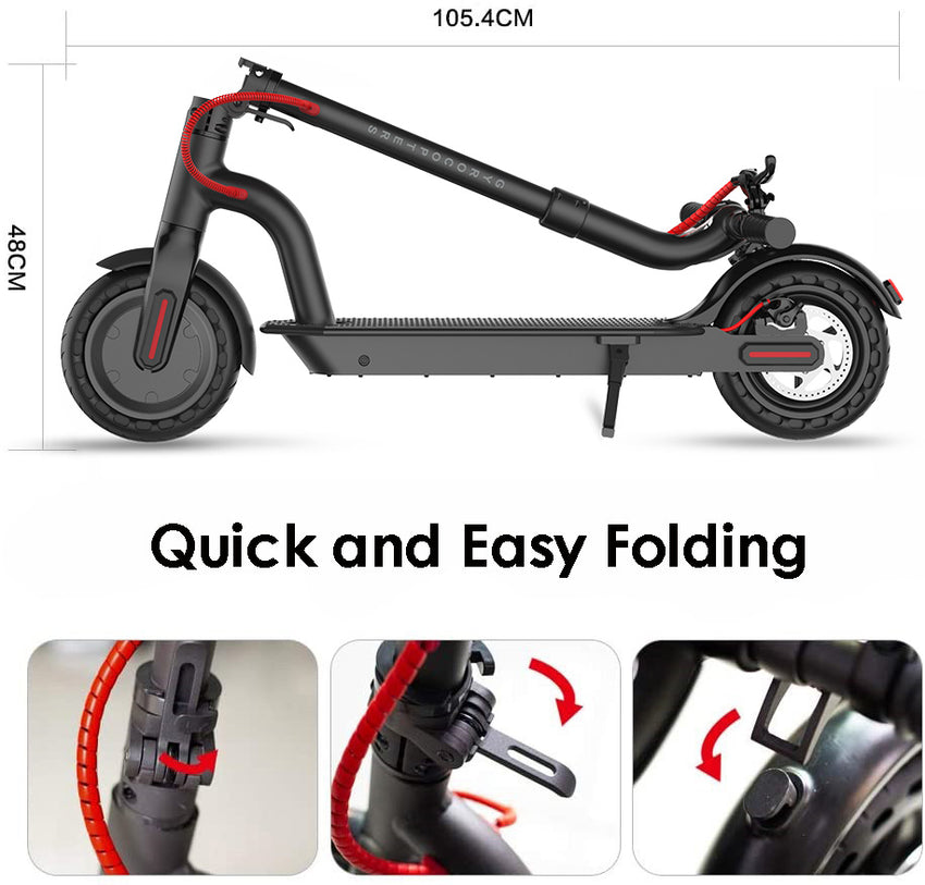 easy to fold scooter, compact scooter, lightweight scooter