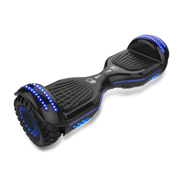 best all terrain hoverboard, light all terrain hoverboard , black all terrain hoverboard