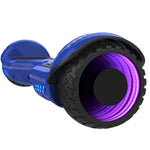 Gyrocopters 8FIniti all terrain hoverboard blue with bluetooth speaker