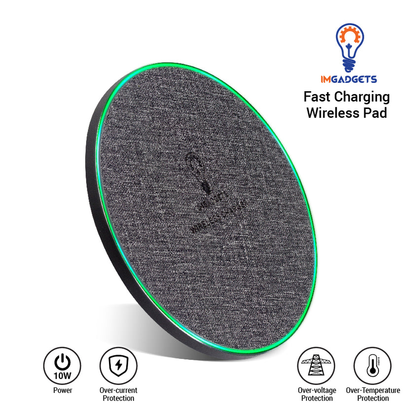 IMGADGETS 10W 2x Fast Wireless Charger
