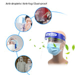 anti-fog face shield, dust proof face shield, anti droplets face shield