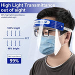 high temperature resistance face shield, uv face shield