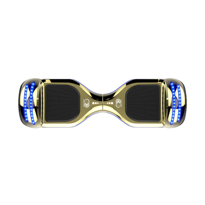 best all terrain hoverboard, light all terrain hoverboard , chrome gold all terrain hoverboard