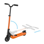 orange kids scooter, kids scooter online, electric scooter for teens, cheap kids scooters