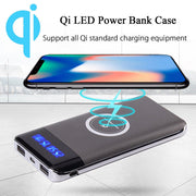 IMGadgets - 10,000 mAh Wireless Charging Portable Power Bank
