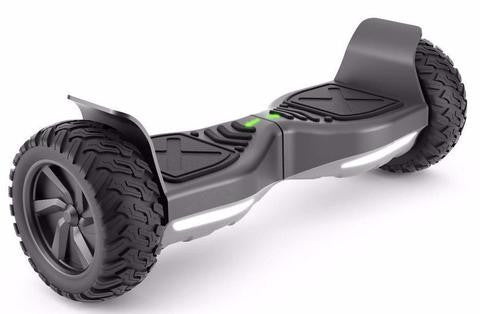 Bluetooth 8.5 inch Hoverboard outdoors black
