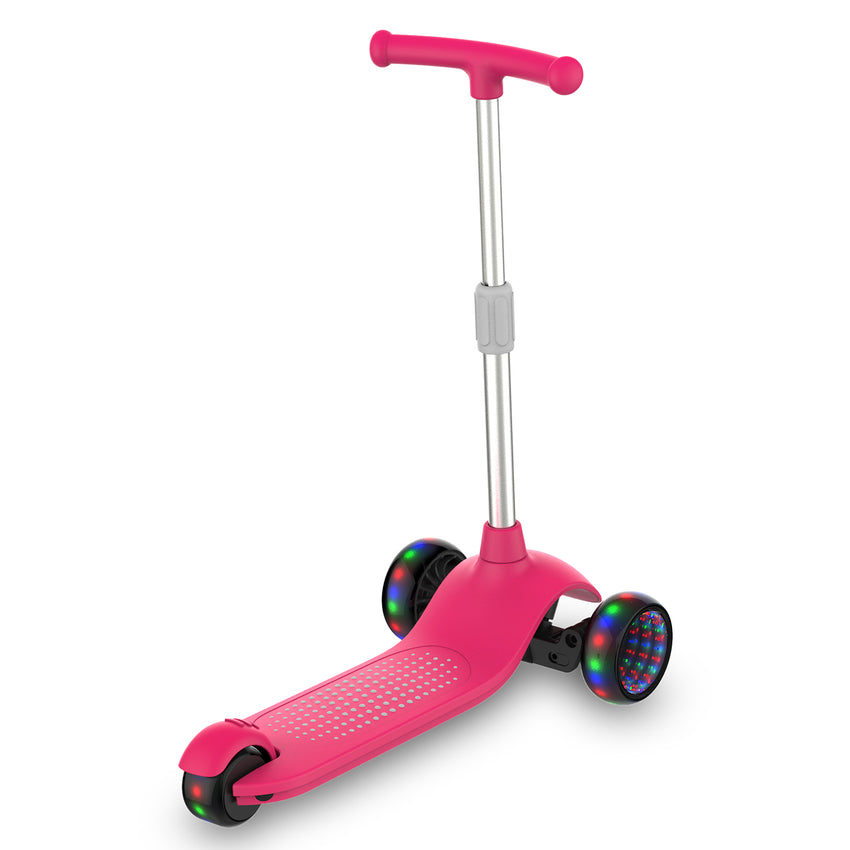 girls 3 wheel scooter, 3 wheel light up scooter