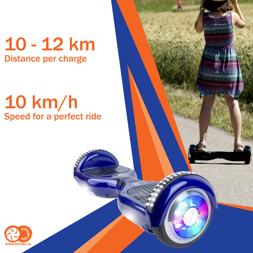 Gyrocopters Hoverboard with bluetooth speaker, hoverboard with led lights, cheap hoverboard with bluetooth, cheap hoverboard in toronto, safe hoverboard, Gyrocopters pro 4.0 hoverboards, pro 4.0 hoverboards, blue hoverboards
