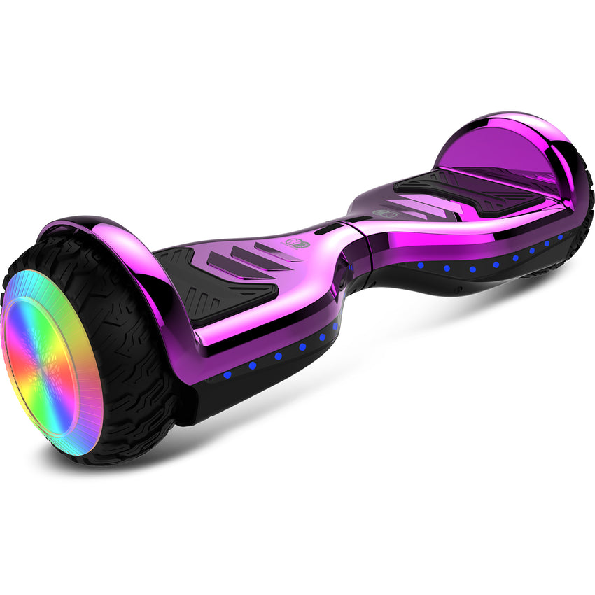 Gyrocopters PRO 6.0 All-Terrain Hoverboard - Purple
