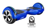 UL 2272 Certified Hoverboard with Bluetooth and LED lights (Blue)
