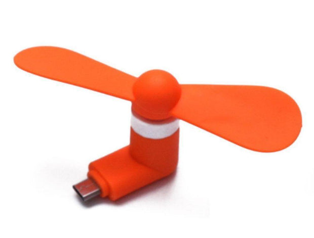 Mini e-fan for your Phone AKA Phone Fan