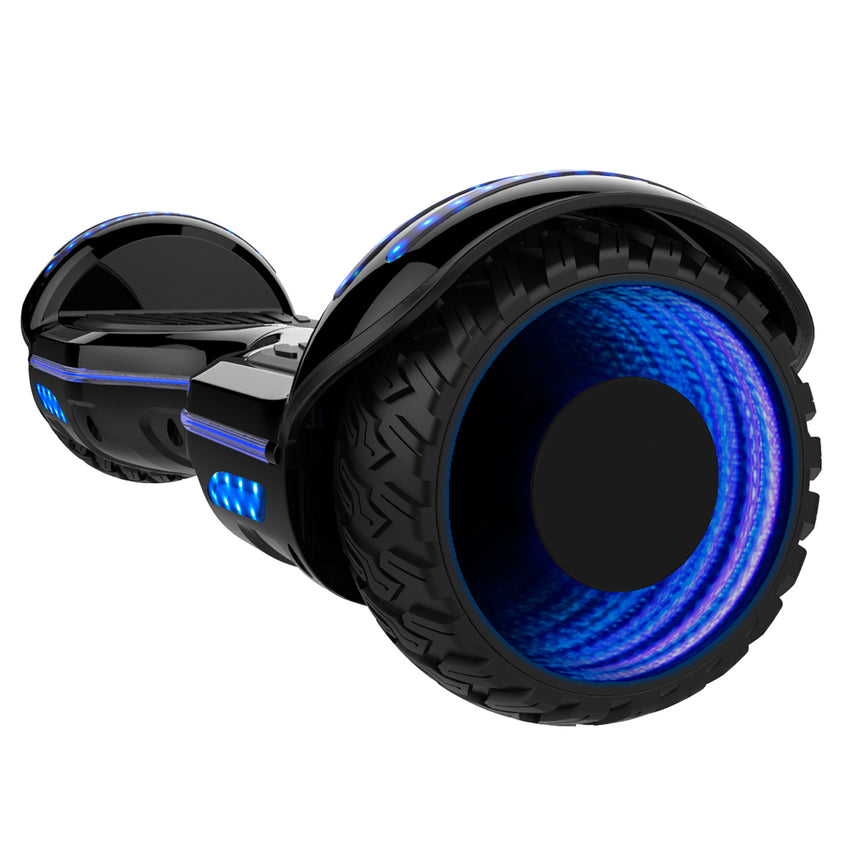 Gyrocopters 8FINITI All Terrain Hoverboard- Black (New Version)