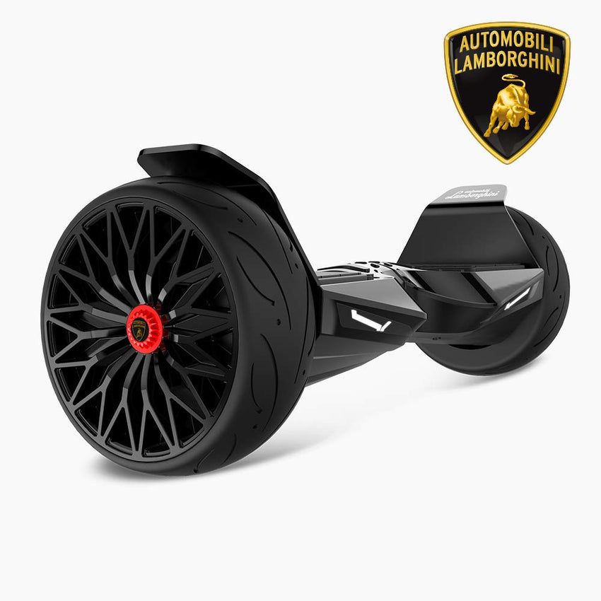Gyrocopters- Lamborghini (authentic branded) 8.5 All Terrain Hoverboard- Black