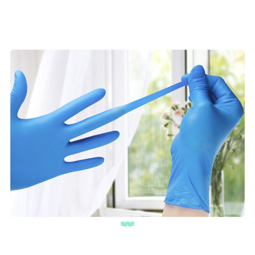 nitrile exam gloves, needle proof gloves, powder free nitrile gloves