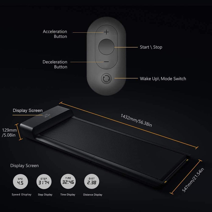 XIAOMI KingSmith Walking Pad A1 Pro Smart Folding Treadmill