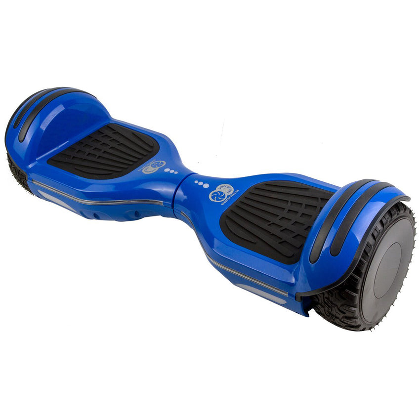 Gyrocopters 8FINITI All Terrain Hoverboard - UL2272 certified with Mirror LED Wheels - Blue