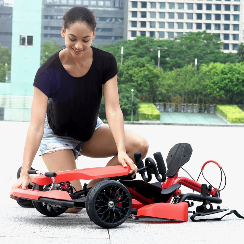 Gyrocopters- Hyper GoGo GoKart Kit Hoverboard Attachment Compatible with All Hoverboards