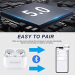 bluetooth headphons, bluetooth earphones, wireless in ear headphones