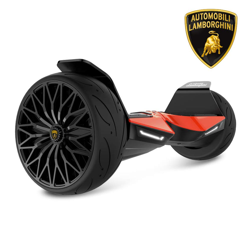 RE-CERTIFIED Gyrocopters- Lamborghini (authentic branded) 8.5 All Terrain Hoverboard