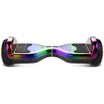 Gyrocopters PRO 6.0 All-Terrain Hoverboard - Chrome Rainbow