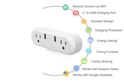 IMGadgets Dual Port Smart Wifi Plug with USB - compatible  w/ Amazon Alexa & Google Home