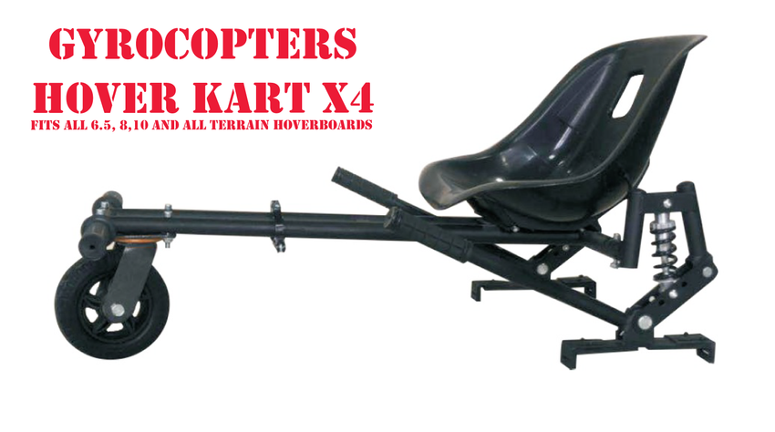 Gyrocopters Hoverkart X4 Hoverboard Attachment