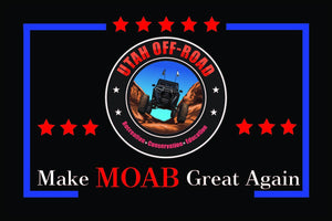 Utah Off Road - Make Moab Great Again - Black