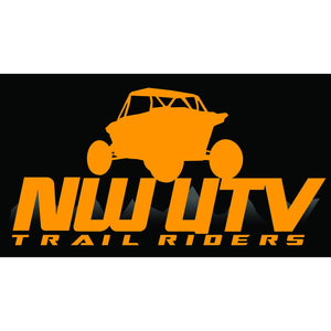 NW Trail Riders  (Orange w/ Blue)