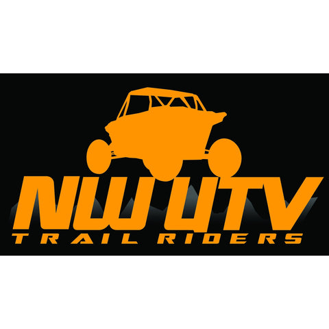 NW Trail Riders  (Orange w/ Black)