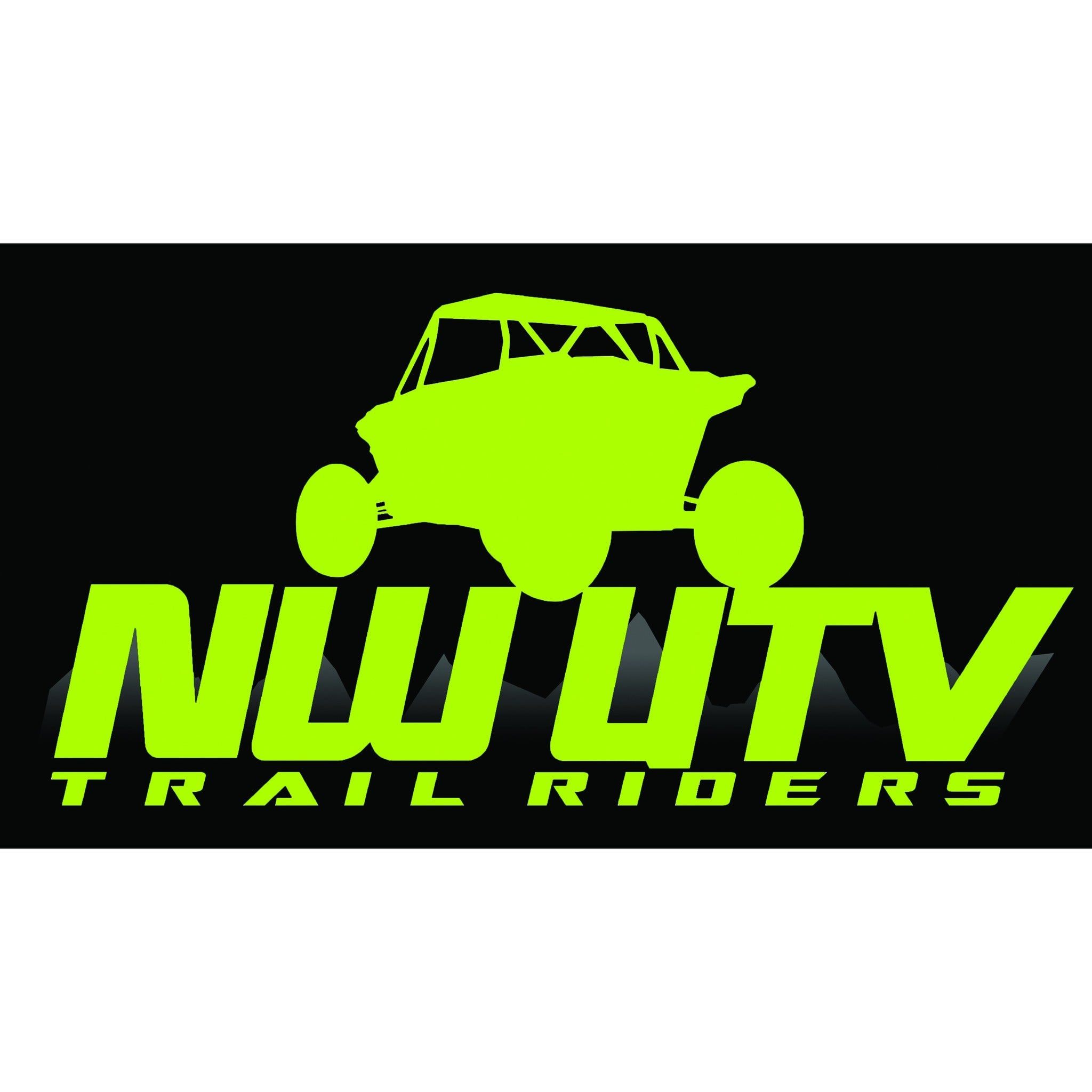 NW Trail Riders  (Neon Green)