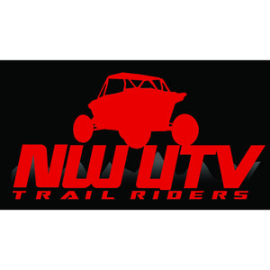 NW Trail Riders  (Red & Black)