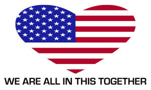 Unity Flag - Heart USA