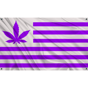 420 USA - White w/ Purple