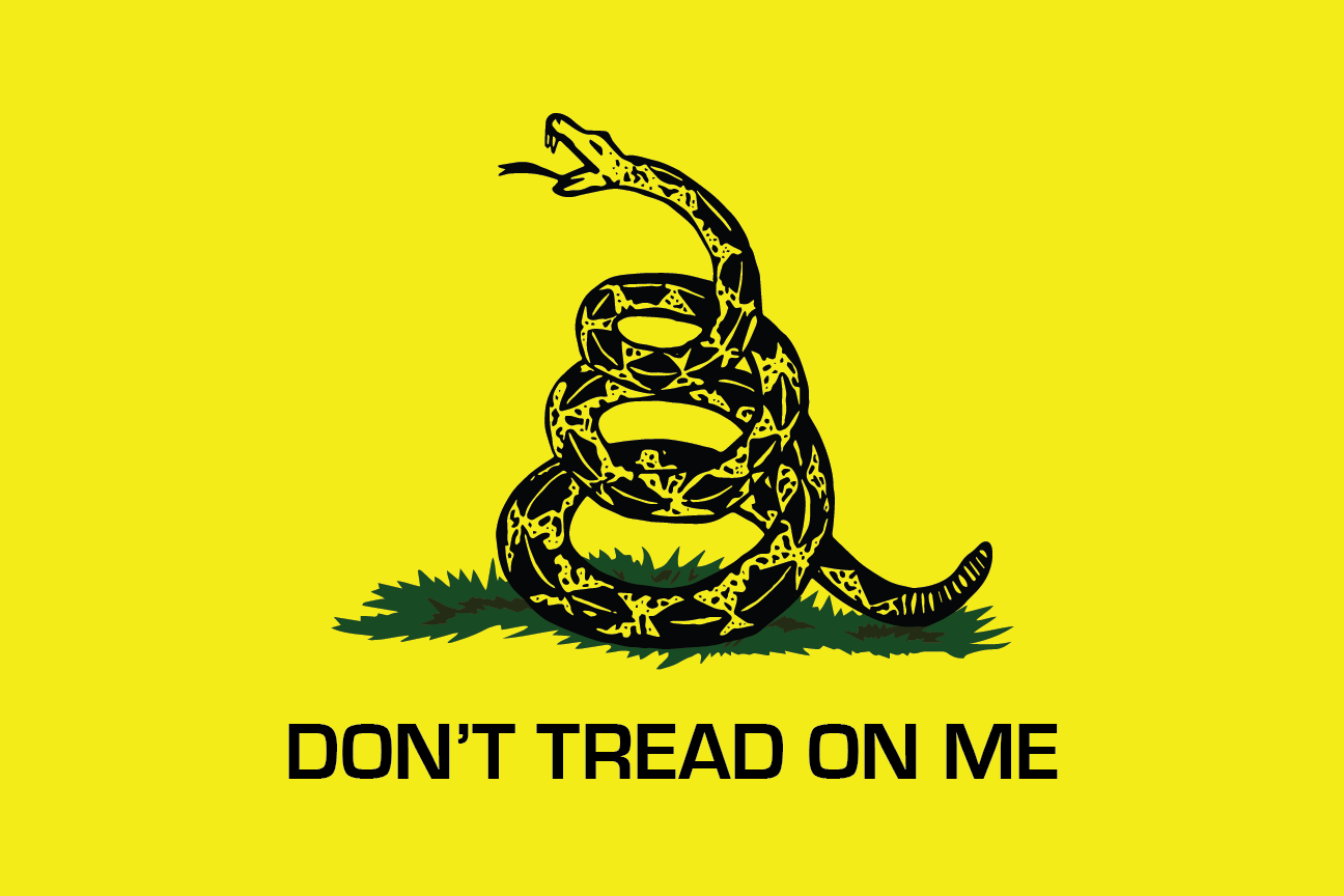 Gadsden | Don't Tread On Me - Whip Flag - Yellow