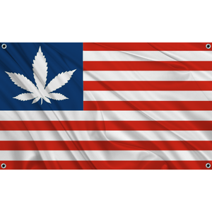 420 USA - Red White Blue