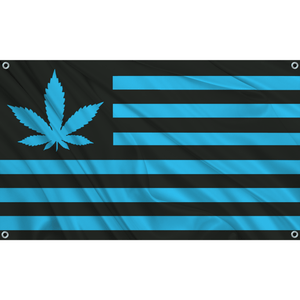 420 USA - Black w/ Blue